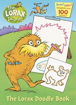 Book The Lorax Doodle Book by Golden Books