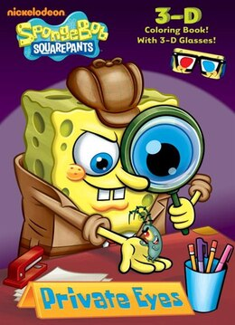 Book Private Eyes (spongebob Squarepants) by Golden Books