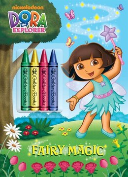 Book Fairy Magic (dora The Explorer) by Golden Books