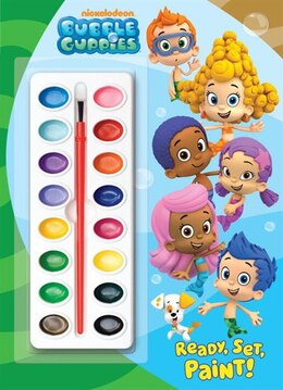 Book Ready, Set, Paint! (bubble Guppies) by Golden Books