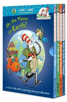 Book Oh, The Places On Earth! A Cat In The Hat's Learning Library Collection by Various