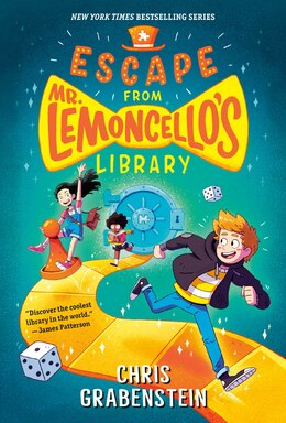 Book Escape From Mr. Lemoncello's Library by Chris Grabenstein