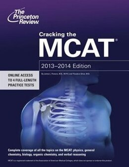 Book Cracking The Mcat, 2013-2014 Edition by Princeton Review