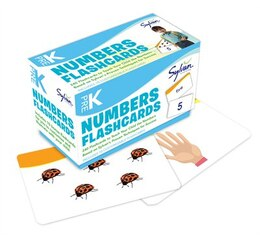 Book Pre-k Numbers & Shapes Flashcards by Sylvan Learning