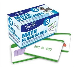 Book 3rd Grade Math Flashcards: 240 Flashcards For Improving Math Skills Based On Sylvan's Proven… by Sylvan Learning