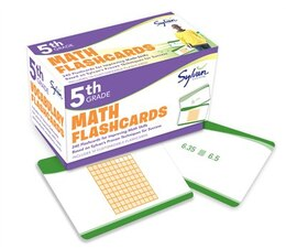 Book 5th Grade Math Flashcards: 240 Flashcards For Improving Math Skills Based On Sylvan's Proven… by Sylvan Learning