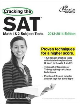 Book Cracking The Sat Math 1 & 2 Subject Tests, 2013-2014 Edition by Princeton Review