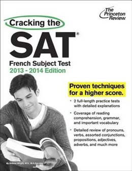 Book Cracking The Sat French Subject Test, 2013-2014 Edition by Princeton Review