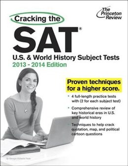 Book Cracking The Sat U.s. & World History Subject Tests, 2013-2014 Edition by Princeton Review