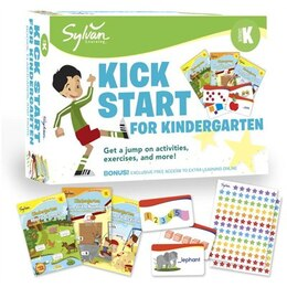 Book Sylvan Kick Start For Kindergarten by Sylvan Learning