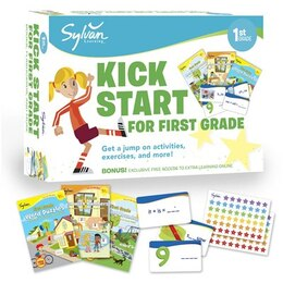 Book Sylvan Kick Start For First Grade by Sylvan Learning