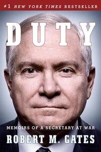Duty: Memoirs Of A Secretary At War