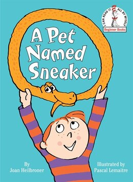Book A Pet Named Sneaker by Joan Heilbroner