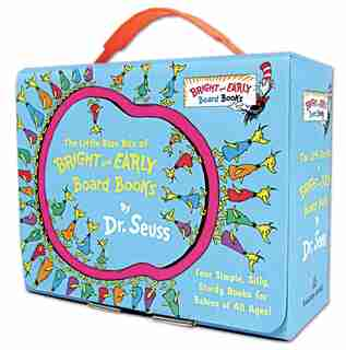 The Little Blue Box Of Bright And Early Board Books By Dr. Seuss by Dr. Seuss