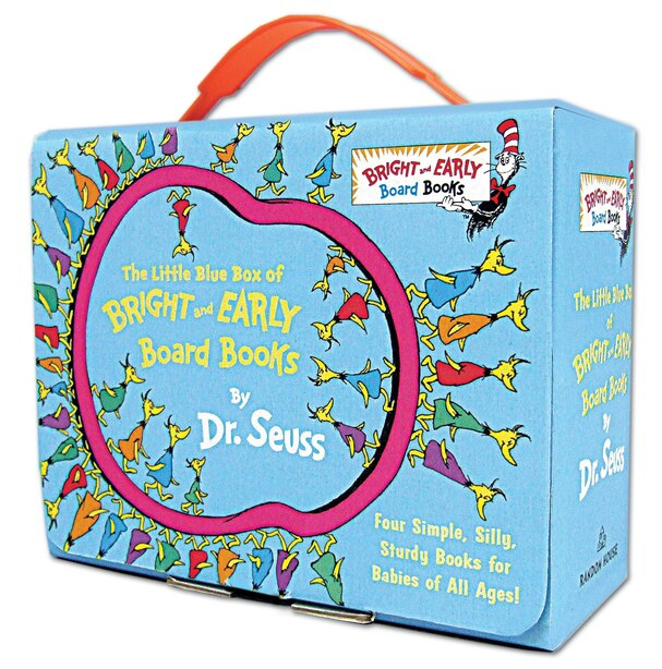 The Little Blue Box Of Bright And Early Board Books By Dr. Seuss de Dr. Seuss