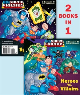 Book Heroes Vs. Villains/space Chase! (dc Super Friends) by Billy Wrecks