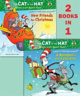 Book A Reindeer's First Christmas/new Friends For Christmas (dr. Seuss/cat In The Hat) by Tish Rabe