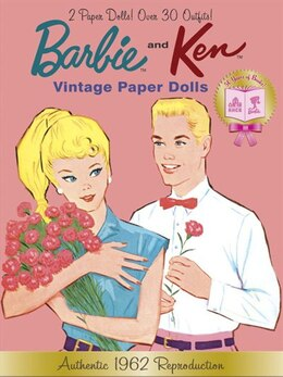 Book Barbie and Ken Vintage Paper Dolls (Barbie) by Golden Books