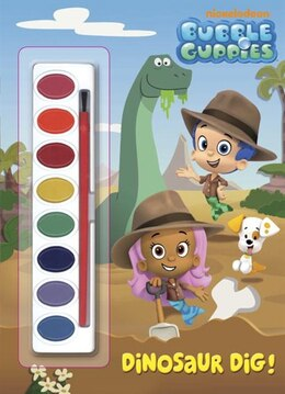 Book Dinosaur Dig! (bubble Guppies) by Golden Books