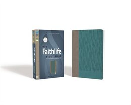 Book Niv, Faithlife Study Bible, Imitation Leather, Gray/blue: Intriguing Insights To Inform Your Faith by John D. Barry