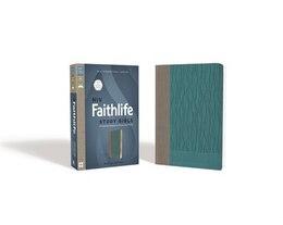 Book Niv, Faithlife Study Bible, Imitation Leather, Gray/blue: Intriguing Insights To Inform Your Faith by Faithlife