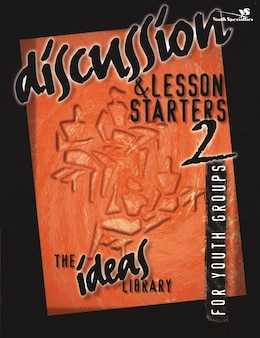 Book Discussion and Lesson Starters 2 by Specialties Youth Specialties