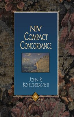Book NIV COMPACT CONCORDANCE by John R. Kohlenberger Iii