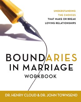 Book Boundaries In Marriage Workbook by Henry Cloud