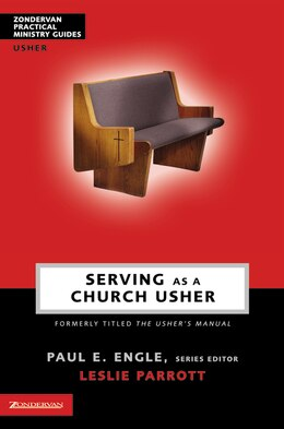 Book Serving as a Church Usher by Leslie Parrott