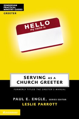 Book Serving as a Church Greeter by Leslie Parrott