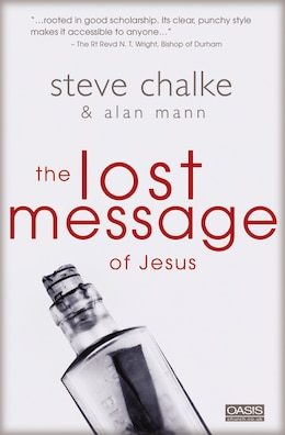 Book The Lost Message of Jesus by Steve Chalke