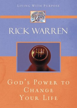 Book God's Power to Change Your Life by Rick Warren