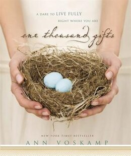 Book One Thousand Gifts by Ann Voskamp
