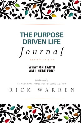 Book The Purpose Driven Life Journal: What on Earth Am I Here For? by Rick Warren