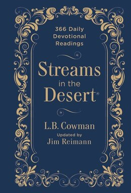 Book Streams In The Desert: 366 Daily Devotional Readings by L B Zondervan
