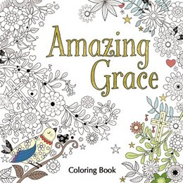 Book Amazing Grace Adult Coloring Book by Zondervan