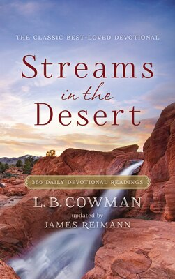 Book Streams in the Desert: 366 Daily Devotional Readings by Zondervan
