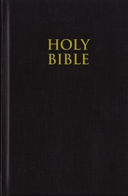 Book NIV, Pew Bible, Hardcover, Black: Black by Zondervan