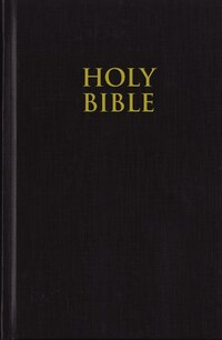 NIV, Pew Bible, Hardcover, Black: Black