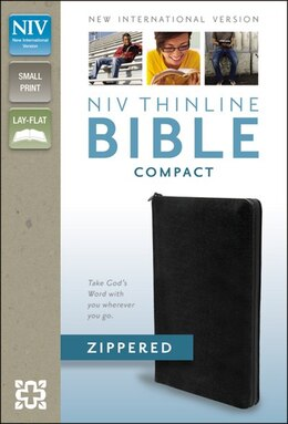 Book NIV Thinline Zippered Collection Bible, Compact by Zondervan