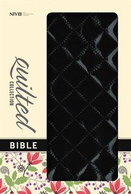 Book NIV, Quilted Collection Bible, Imitation Leather, Black, Red Letter Edition: Black/br Italian-duo… by Zondervan