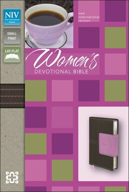 Book NIV, Women's Devotional Bible, Compact, Imitation Leather, Brown/Pink: Chocolate/orchid Italian D by Zondervan