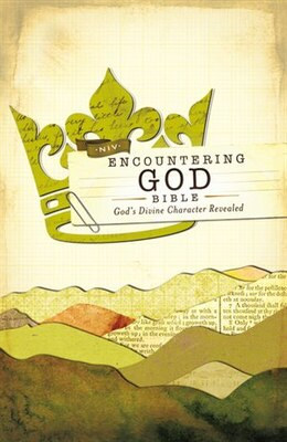 Book Niv, Encountering God Bible, Hardcover (encounter Bible Series): God's Divine Character Revealed by Zondervan