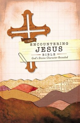 Book Niv, Encountering Jesus Bible, Hardcover (encounter Bible Series): Jesus Revealed Throughout the… by Zondervan