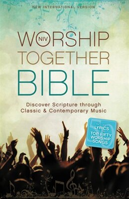 Book NIV, Worship Together Bible, Hardcover: Discover Scripture through Classic and Contemporary Music by Zondervan