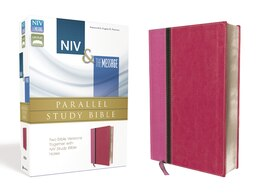 Book Niv, The Message, Parallel Study Bible, Imitation Leather, Pink: Two Bible Versions Together with… by Zondervan