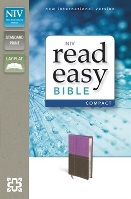 Book Niv, Readeasy Bible, Compact, Imitation Leather, Pink/brown, Red Letter Edition by Zondervan
