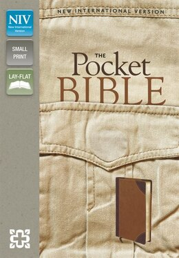 Book Niv, Pocket Bible, Imitation Leather, Pocket-sized, Brown/tan by Zondervan