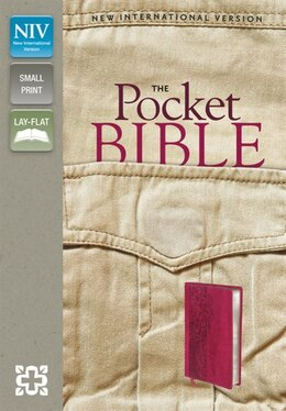 Book Niv, Pocket Bible, Imitation Leather, Pocket-sized, Red by Zondervan