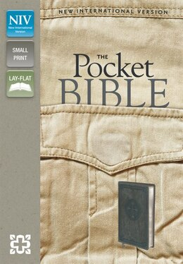 Book Niv, Pocket Bible, Imitation Leather, Pocket-sized, Gray by Zondervan